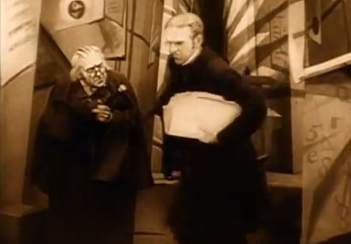 Caligari and the Town Clerk