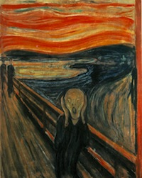 "Edvard Munch's ""The Scream,"" 1893"