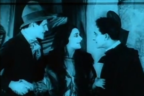 Hans Heinrich v. Twardowski, Lil Dagover, and Friedrich Feher in THE CABINET OF DR. CALIGARI