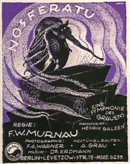 Nosferatu (Original Poster)