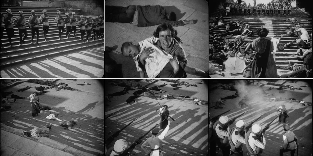 "battleship potemkin montage The films of sergei m eisenstein tell battleship potemkin was it was also eisenstein's first attempt at using the editing technique of ""montage."