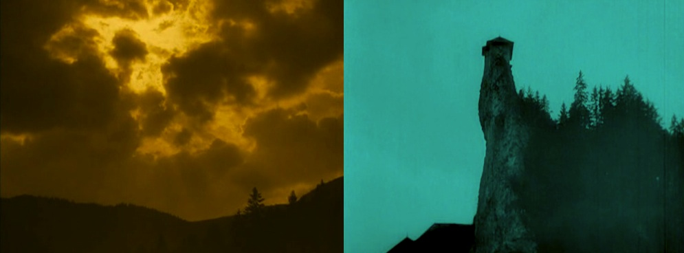 Transition from day to night in NOSFERATU