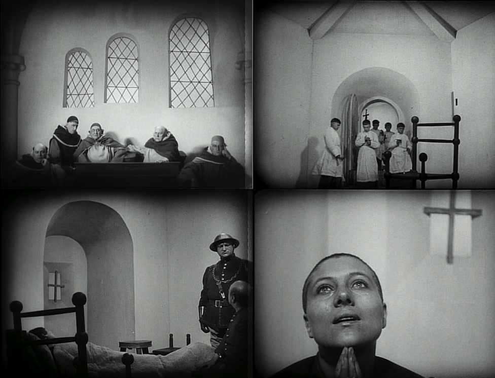 Distorted Sets in THE PASSION OF JOAN OF ARC
