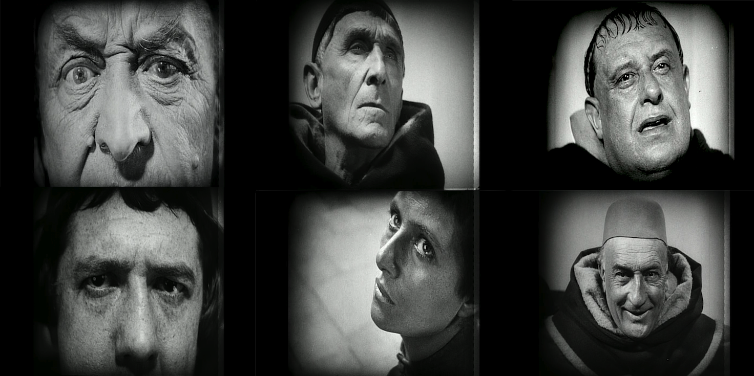 Faces of The Passion of Joan of Arc