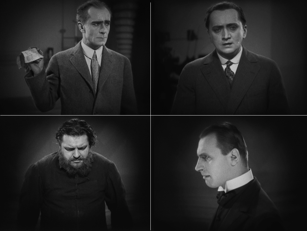 Fredersen, Josaphat, Grot, and The Thin Man
