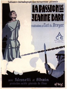 La Passion de Jeanne d'Arc (Movie Poster)