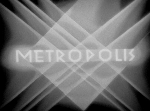METROPOLIS Title Card