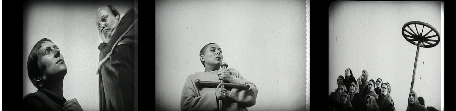Neutral Backgrounds in THE PASSION OF JOAN OF ARC