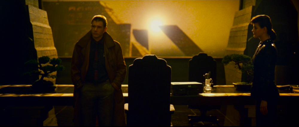 Deckard and Rachel