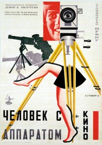 Man with a Movie Camera-Poster