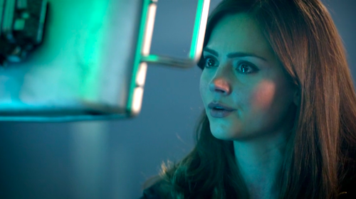 Clara (Jenna-Louise Coleman) in HIDE