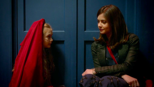 Merry (Emilia Jones) and Clara (Jenna-Louise Coleman)
