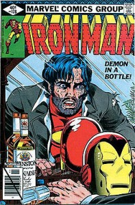 """Demon in a Bottle,"" written by David Michelinie"
