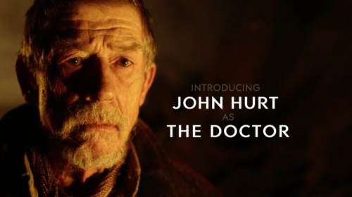 Introducing John Hurt as The Doctor