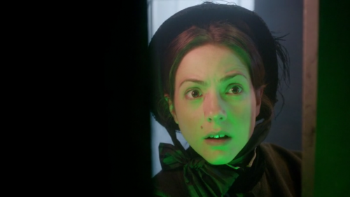 "Jenny (Catrin Stewart) in ""The Crimson Horror"""