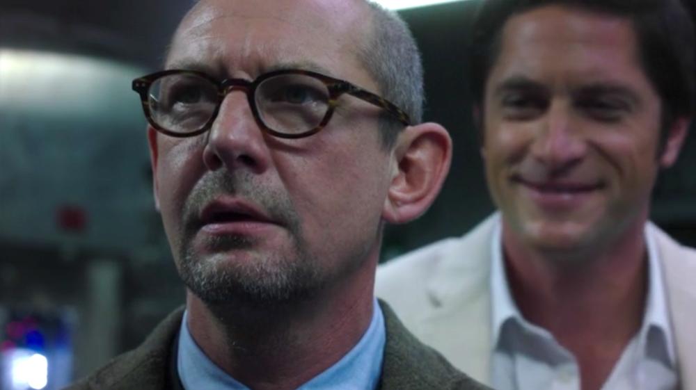 Dr. Franklin Hall (Ian Hart) and Ian Quinn (David Conrad)