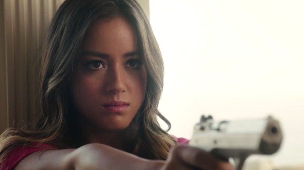 "Skye (Chloe Bennet) in ""The Asset"""