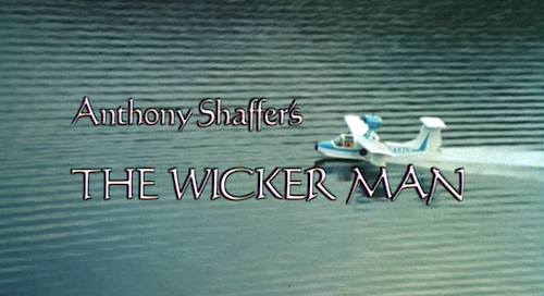 THE WICKER MAN Title Card