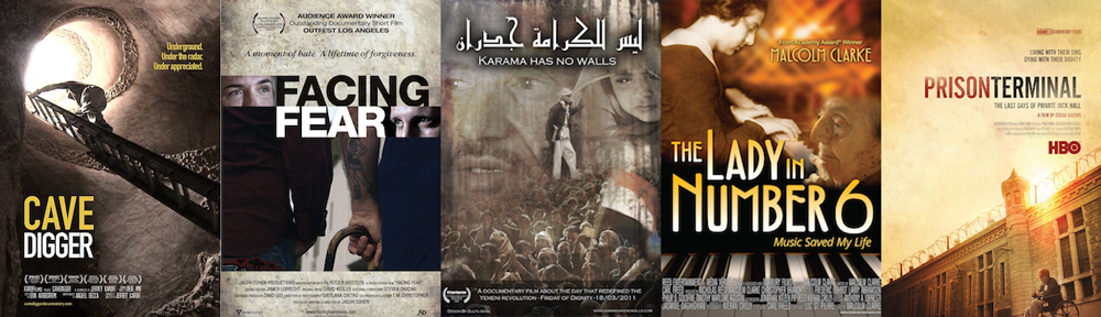 BEST DOCUMENTARY SHORT: CaveDigger; Facing Fear; Karama Has No Walls; The Lady in Number 6; Prison Terminal