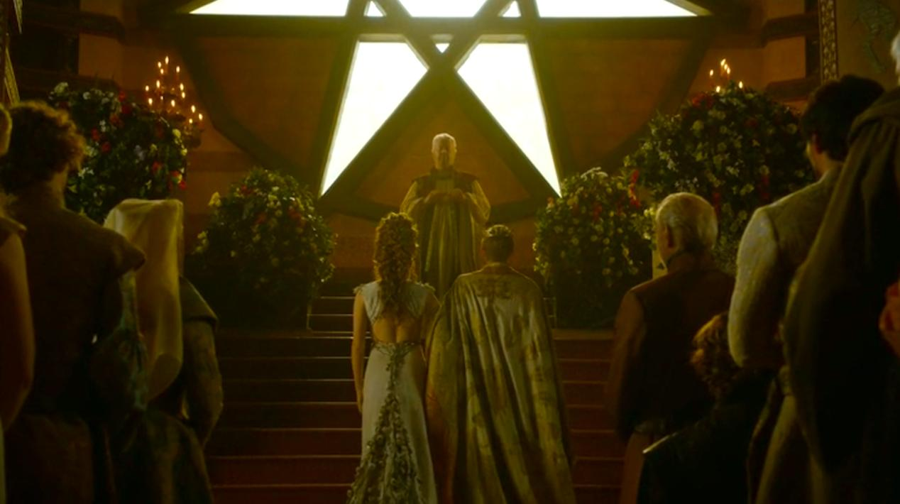The-wedding-of-Margaery-Natalie-Dormer-and-Joffrey-Jack-Gleeson