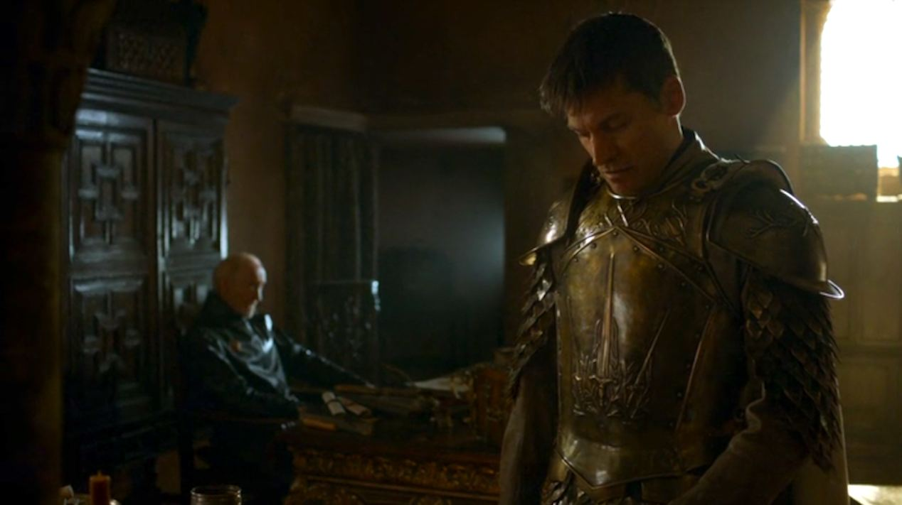 Tywin-Charles-Dance-and-Jaime-Lannister-Nikolaj-Coster-Waldau