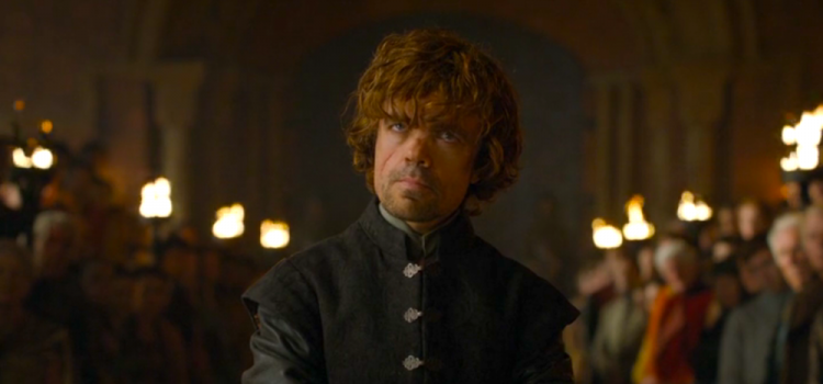 Tyrion Lannister (Peter Dinklage) in The Laws of Gods and Men