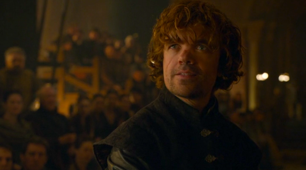 Tyrion (Peter Dinklage) in The Laws of Gods and Men
