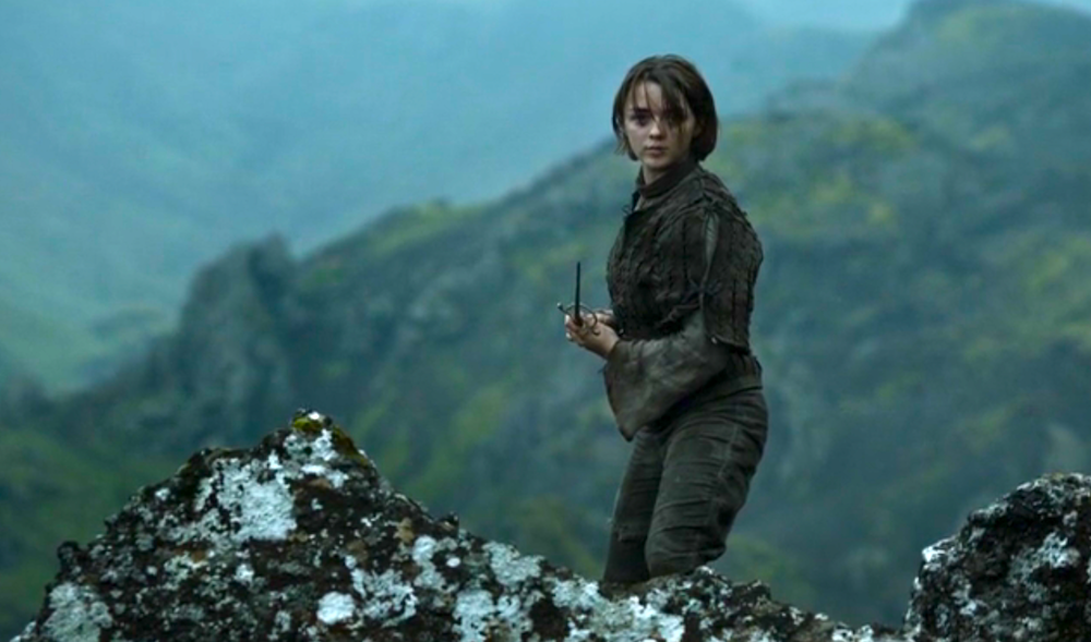 Arya Stark (Maisie Williams) in The Children