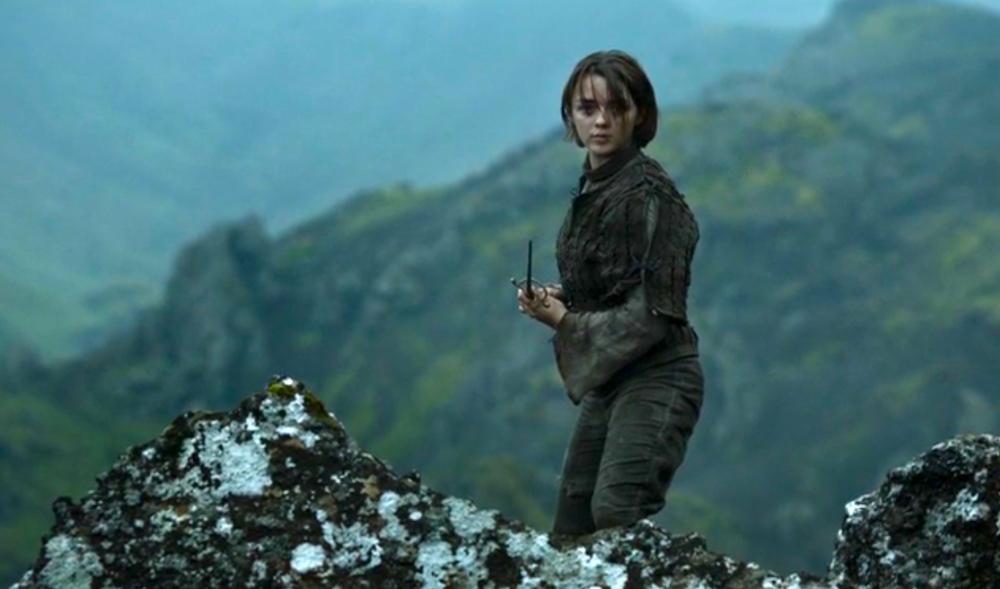 Arya Stark (Maisie Williams) in The Children