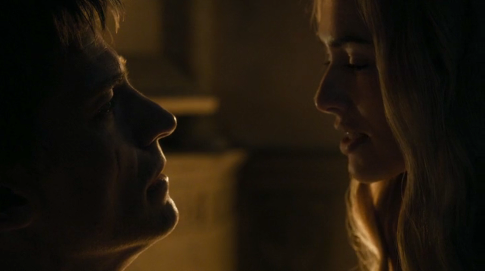 Jaime (Nikolaj Coster-Waldau) and Cersei (Lena Headey)