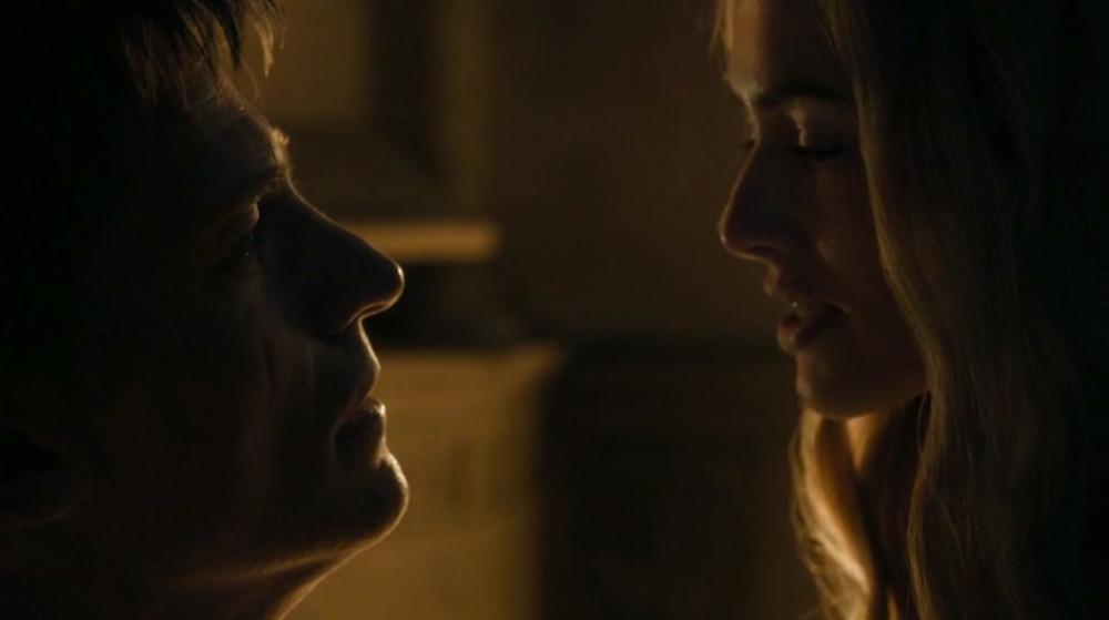 Jaime (Nikolaj Coster-Waldau) and Cersei (Lena Headey)