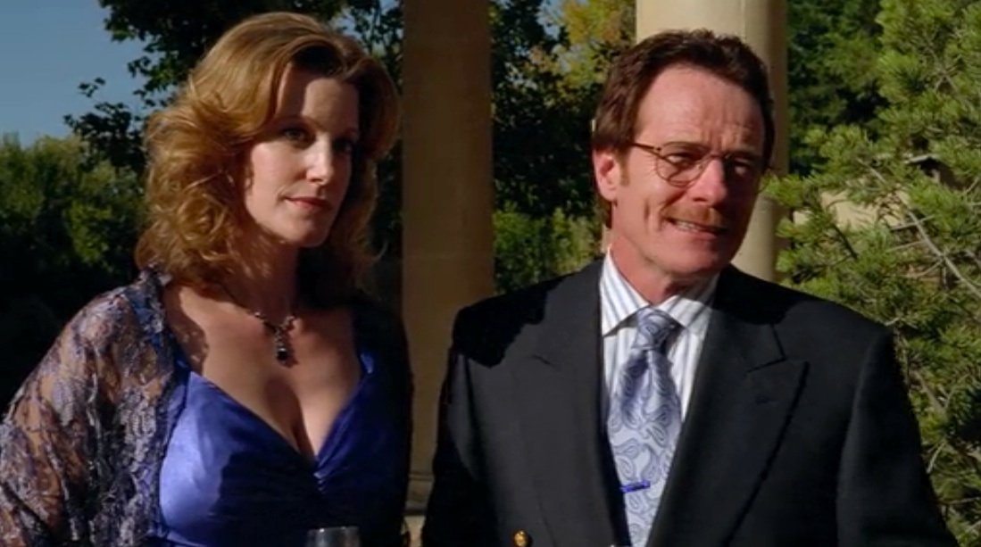 Anna Gunn and Bryan Cranston in Gray Matter