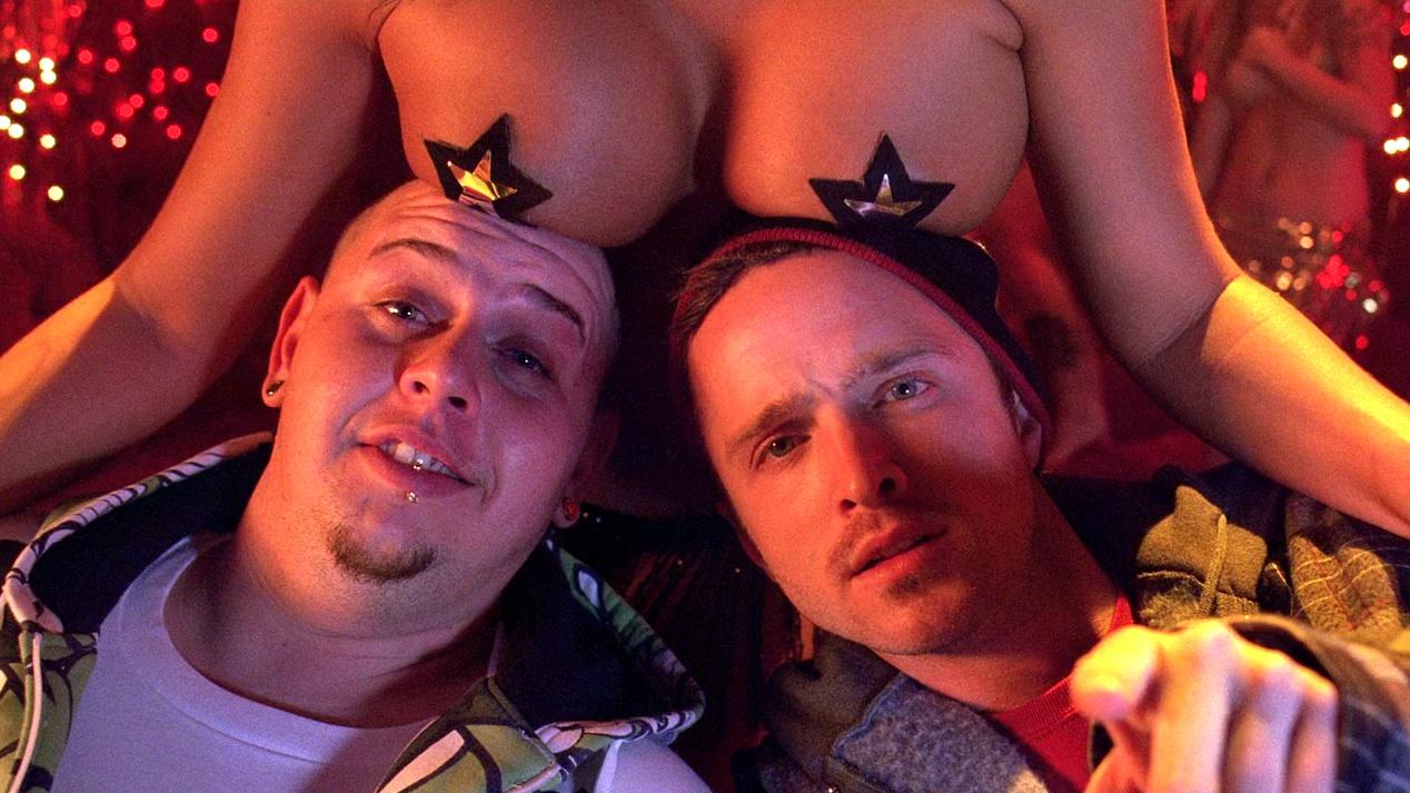 Combo (Rodney Rus), Jesse (Aaron Paul) and Friend in MAS