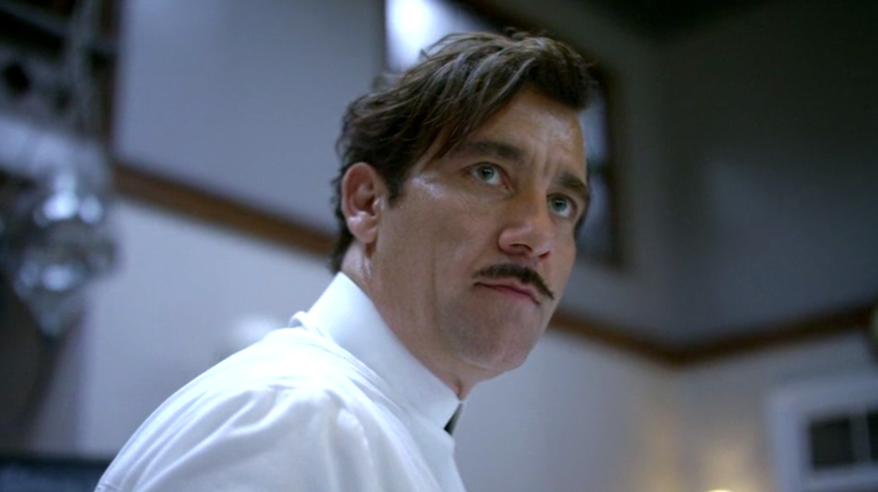 Dr. John Thackery (Clive Owen) in THE KNICK