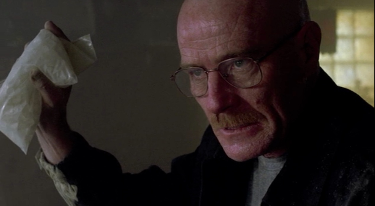 Heisenberg (Bryan Cranston) in A Crazy Handful of Nothin