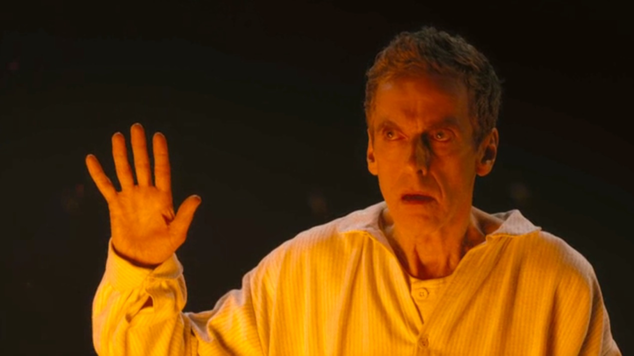 Peter Capaldi in DEEP BREATH