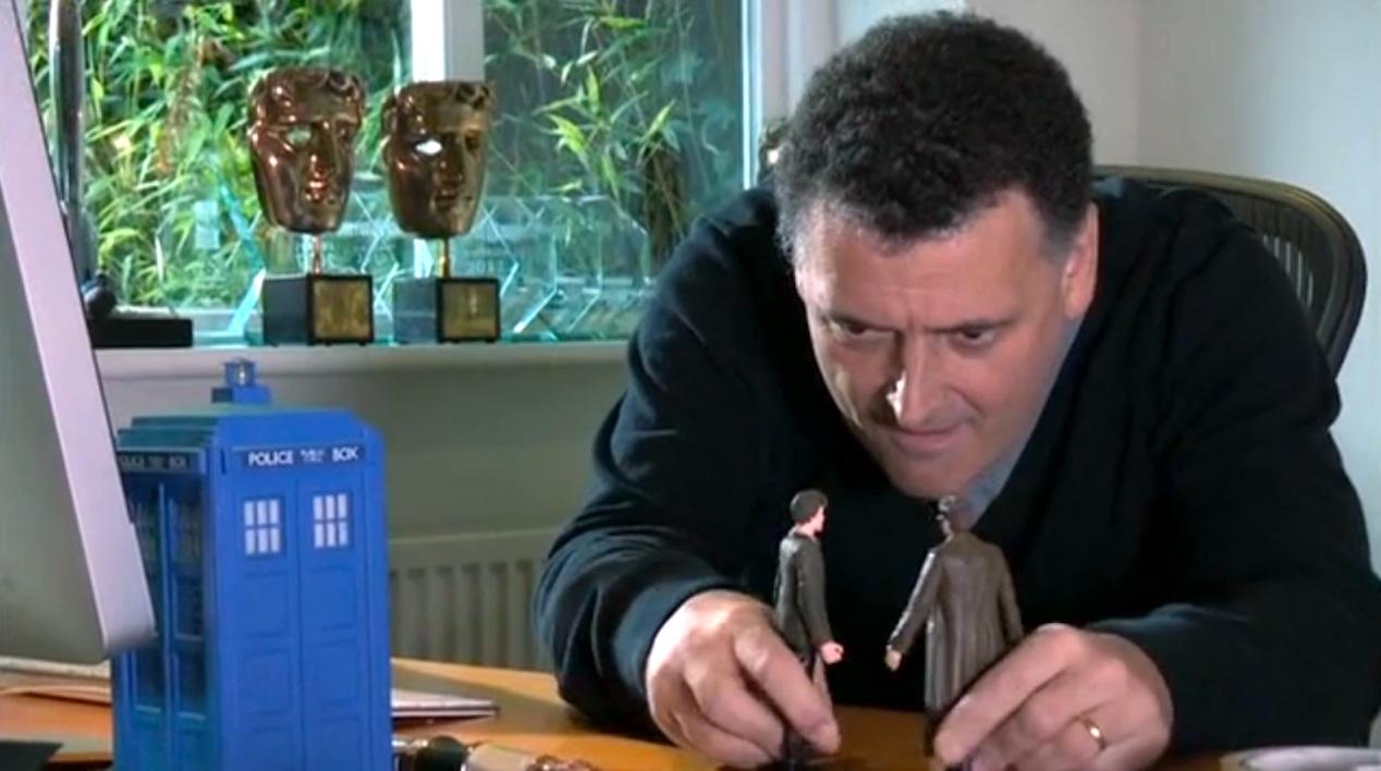 """Steven Moffat in """"The Five(ish) Doctors Reboot"""""""