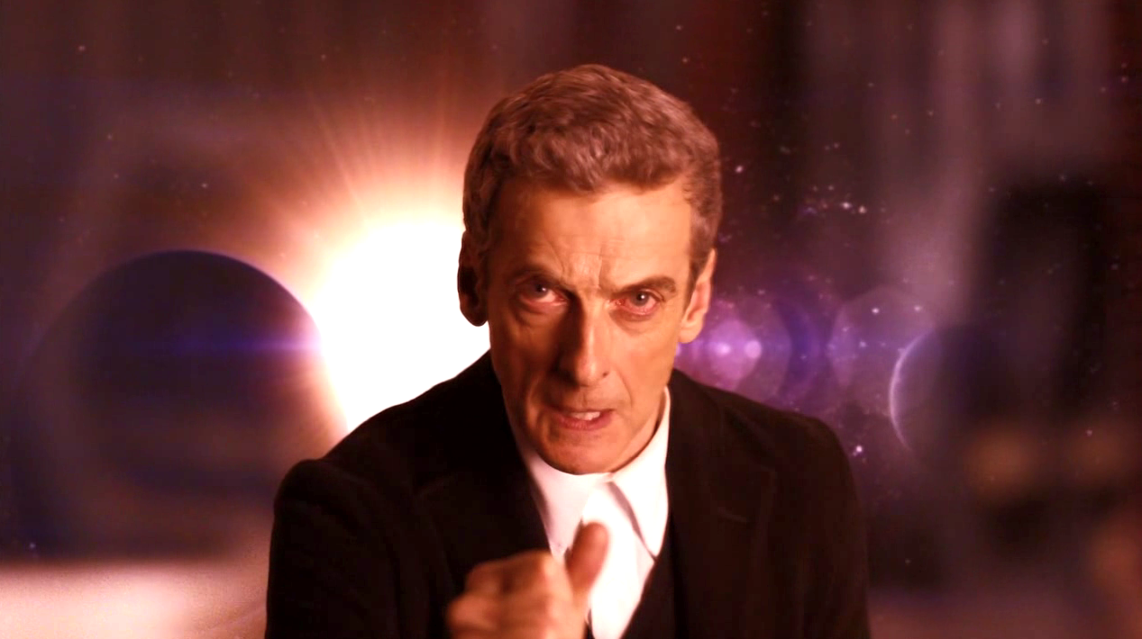 The Doctor (Peter Capaldi) in INTO THE DALEK