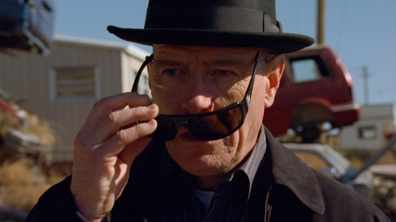 Walter White (Bryan Cranston) in A No-Rough-Stuff-Type Deal