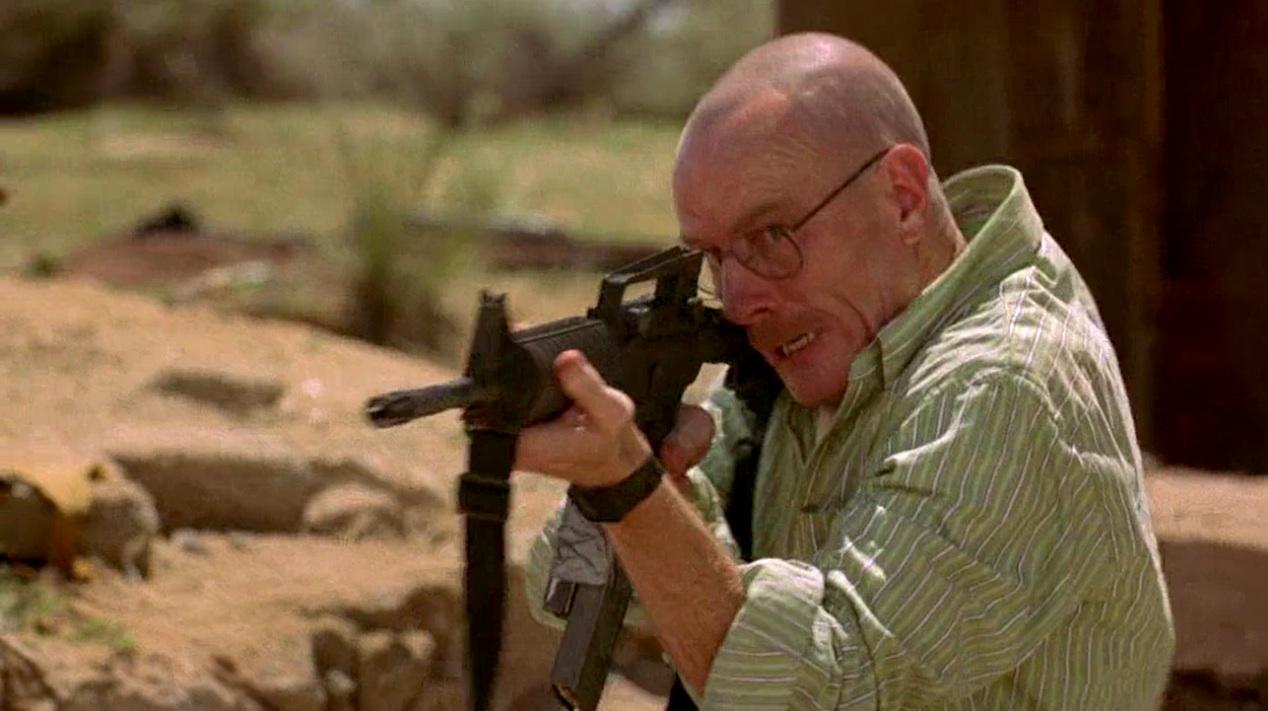 Walter White (Bryan Cranston) in Grilled