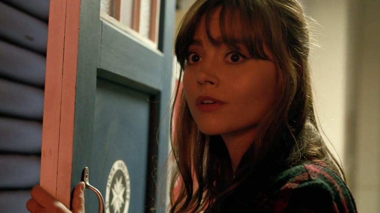 Clara (Jenna Coleman) in INTO THE DALEK