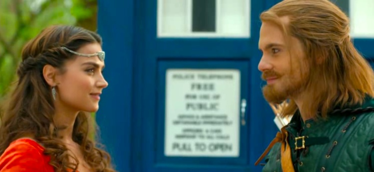 "DOCTOR WHO 8×03 – ""Robot of Sherwood"""