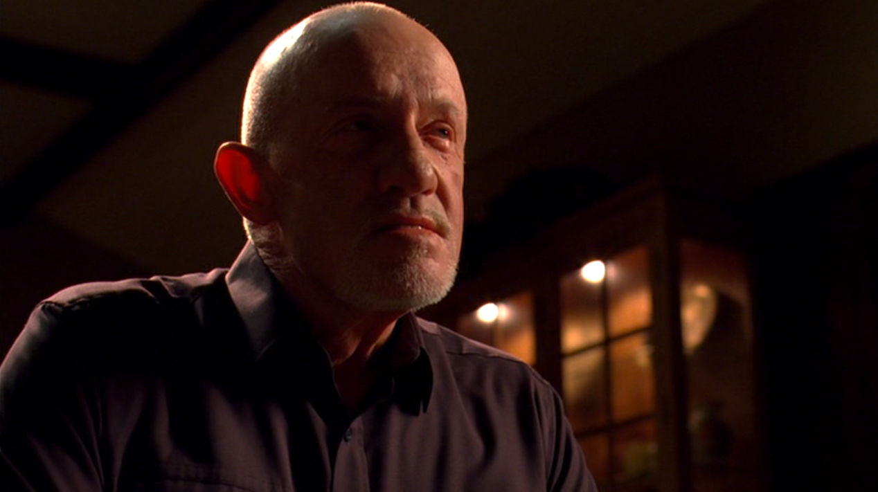 Mike (Jonathan Banks) in HALF MEASURES