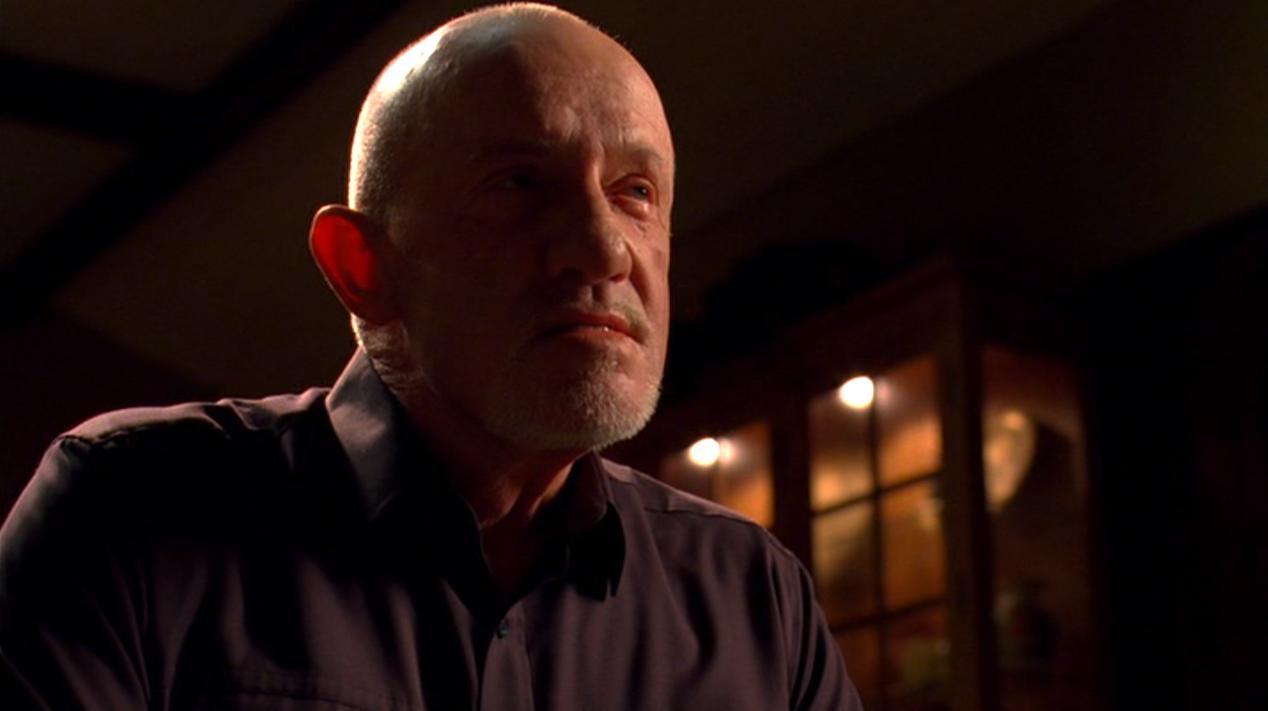 Mike (Jonathan Banks) in HALF MEASURES