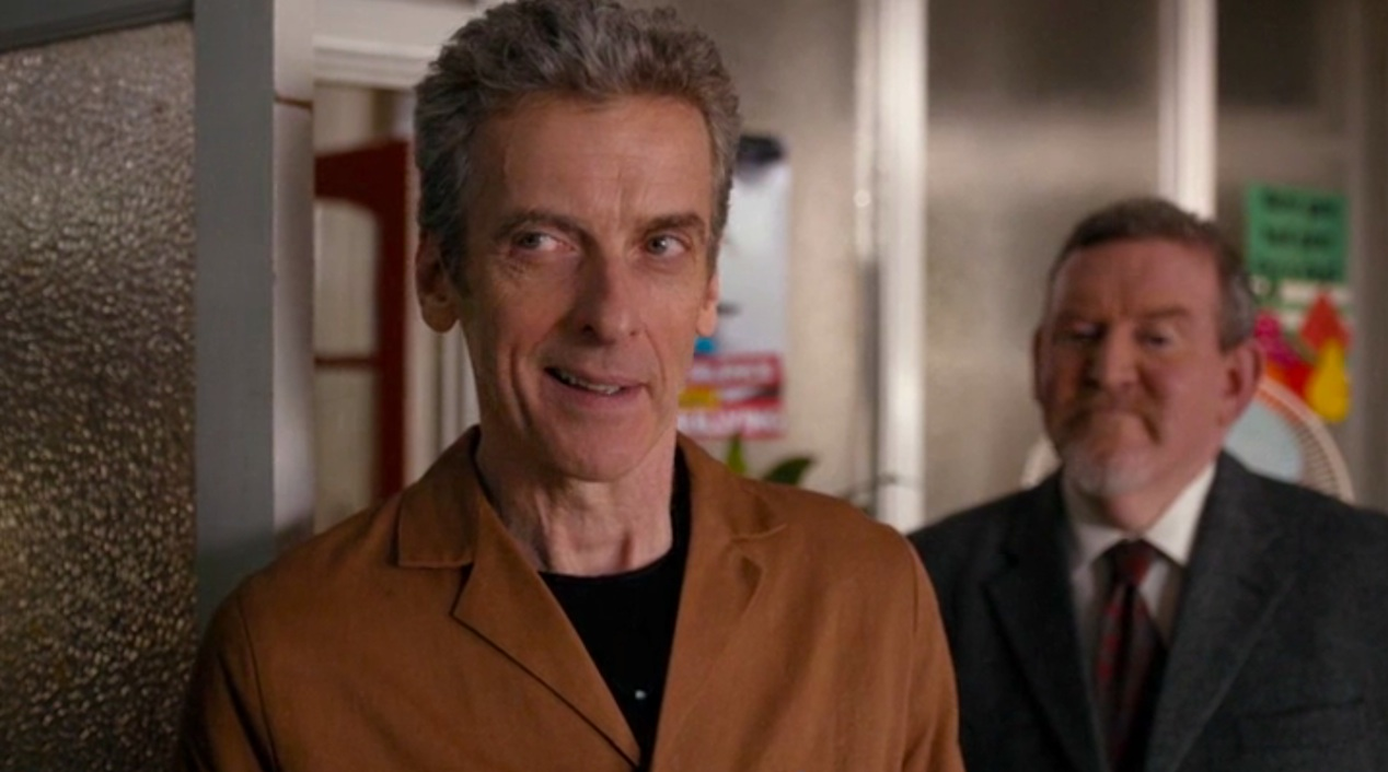 Peter Capaldi and Nigel Betts in THE CARETAKER
