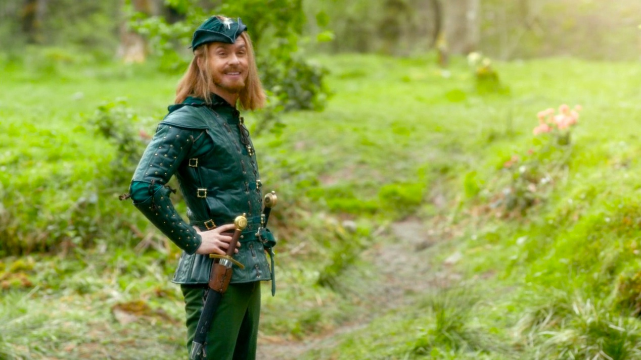 Robin Hood (Tom Riley) in ROBOT OF SHERWOOD