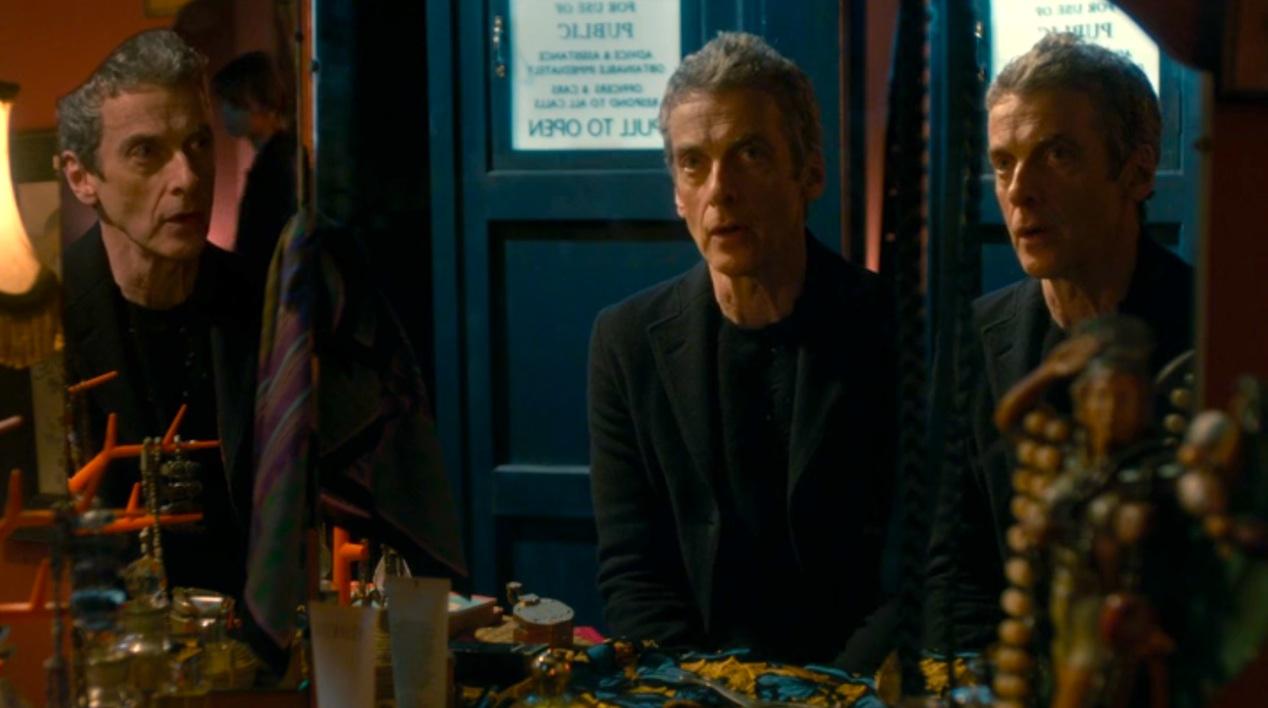 The Doctor (Peter Capaldi) in LISTEN