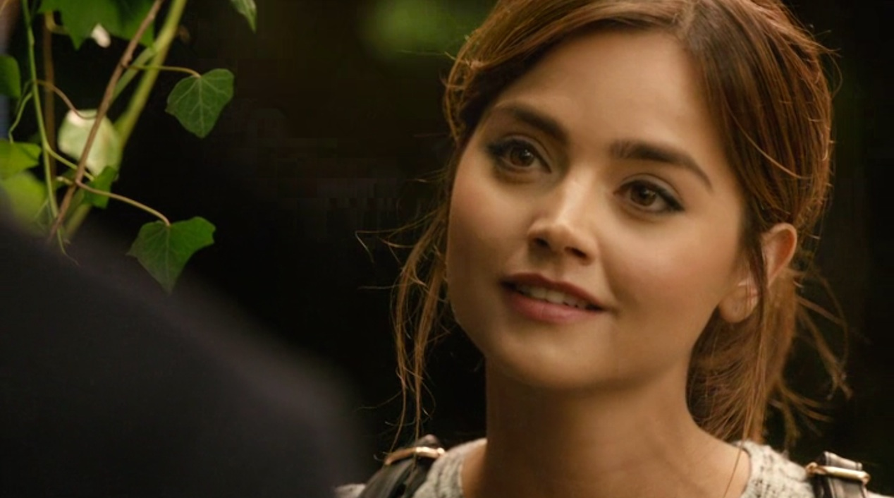 Clara (Jenna Coleman) in IN THE FOREST OF THE NIGHT