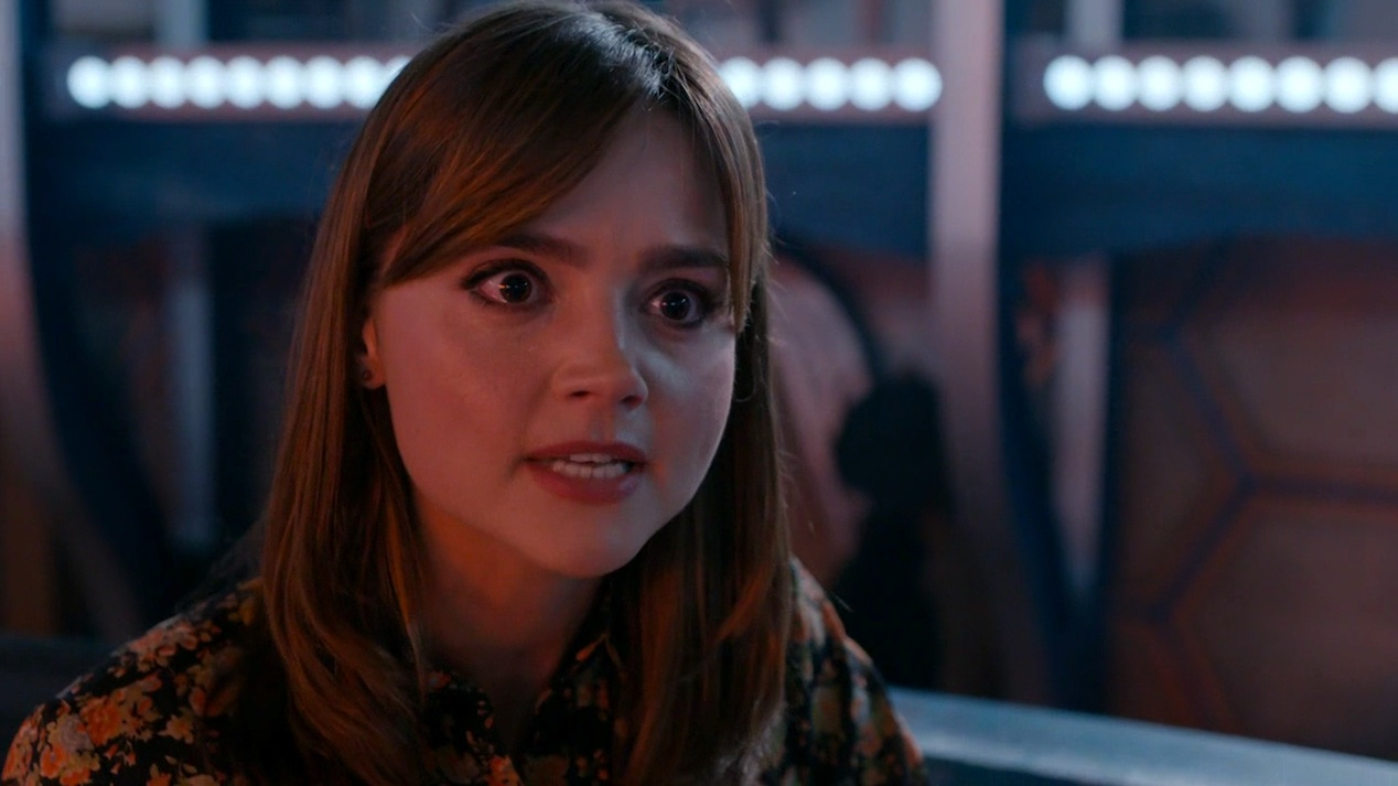 Clara (Jenna Coleman) in KILL THE MOON