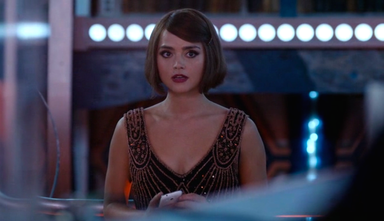 Jenna Coleman in Mummy on the Orient Express